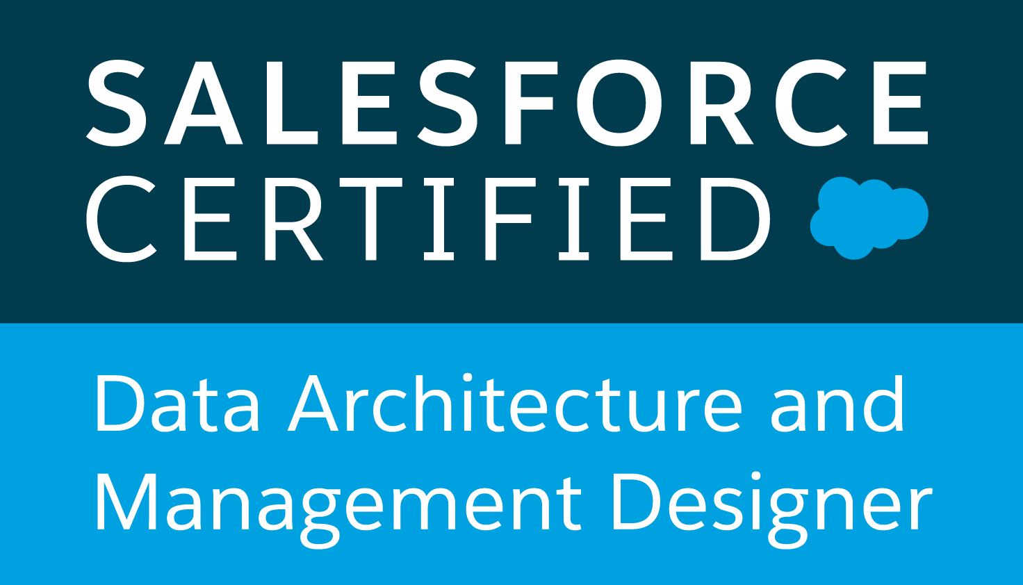 Certified Salesforce Data Architecture and Management Designer