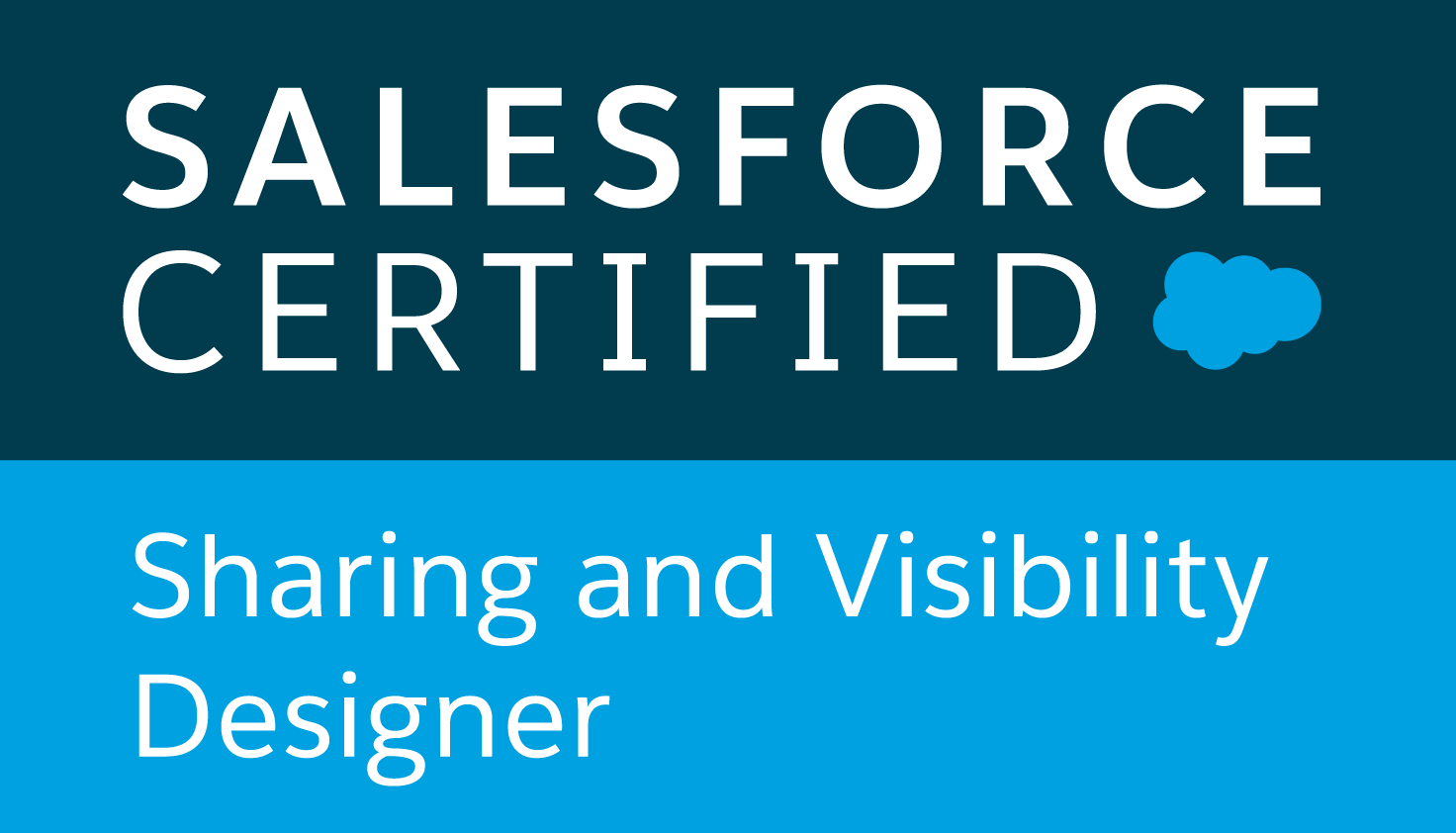 Certified Salesforce Sharing and Visibility Designer